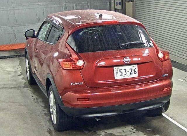 NISSAN JUKE 2010 RED full