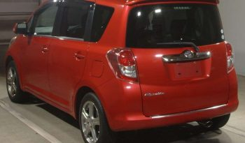TOYOTA RACTIS 2008 RED full