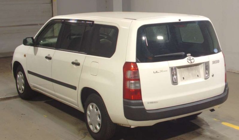 TOYOTA SUCCCEED 2014 WHITE full
