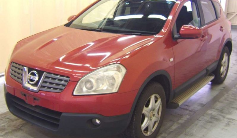NISSAN DUALIS 2007 RED full
