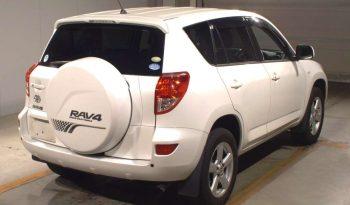 TOYOTA RAV4 2006 WHITE full