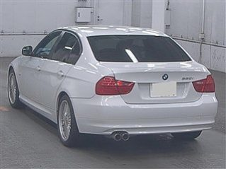 BMW 3 2009 WHITE full