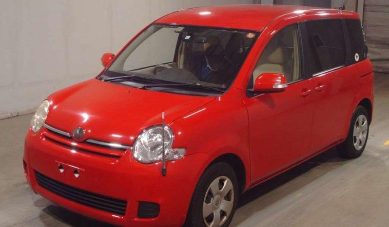 TOYOTA SIENTA 2006 RED full