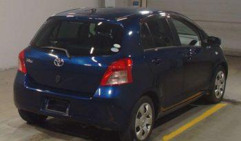 TOYOTA VITZ 2005 DARK BLUE full