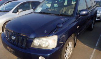 TOYOTA KLUGER 2001 full